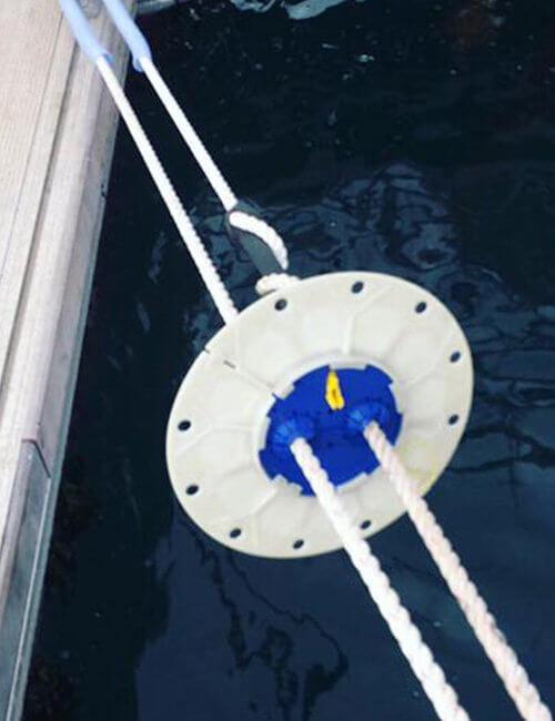 no rats on board - Rattenblech - Rattenschutz für Schiffe