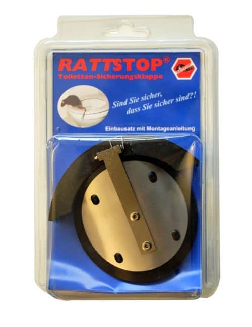 Rattenschutz Toilettenabfluss