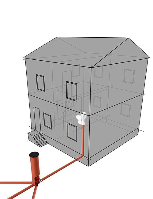 Schutz vor Ratten im Gebäude