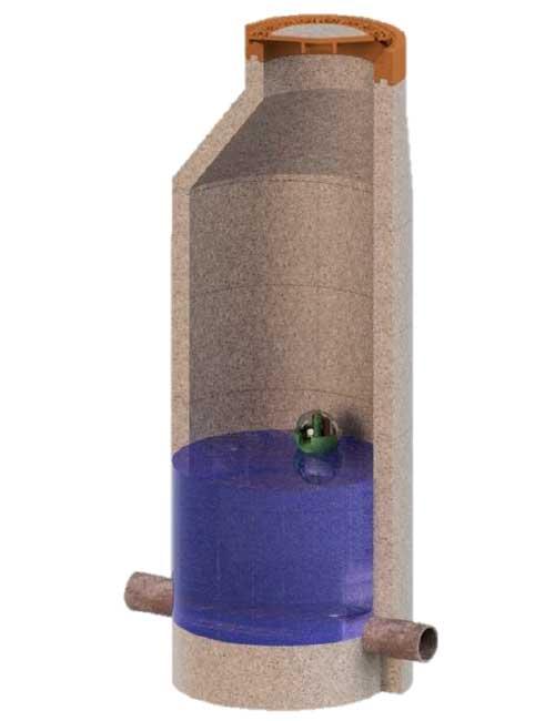 Steigender Pegelstand Köderschutzbox