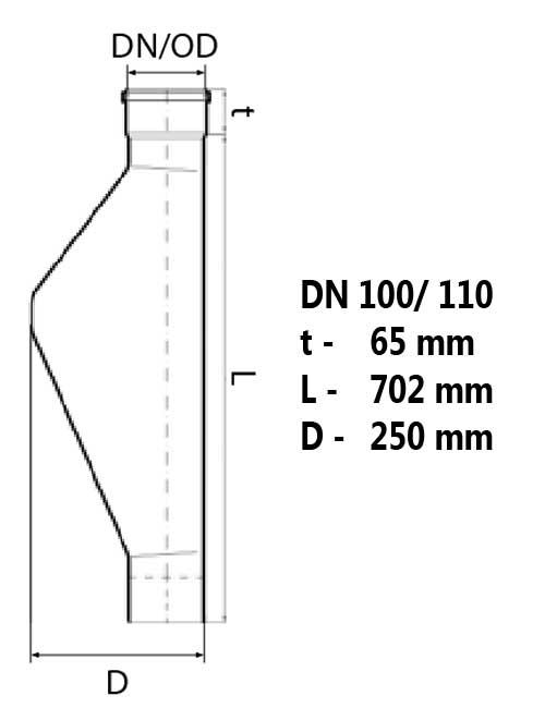 Maße Polo-KAL NG DN 100/110